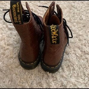 LIMITED EDITION Brown Croc 1460 Pascal Dr. Martens